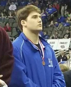 Congrats to Brandon Eastlack on placing 4th at State!!!