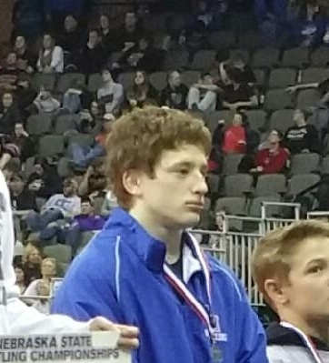 Congrats to Jake Stogdill on finishing off a great career as a 3x state medalist and 2015 Champ!!